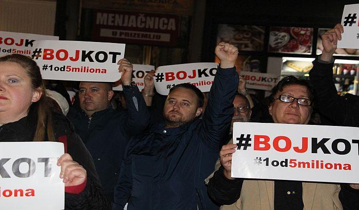 Protest protiv režima u petak, 15. novembra, u 18 časova na Pozorišnom trgu