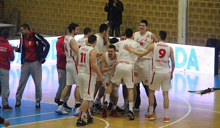 Košarkaši Vojvodine ostvarili prvu pobedu u KLS