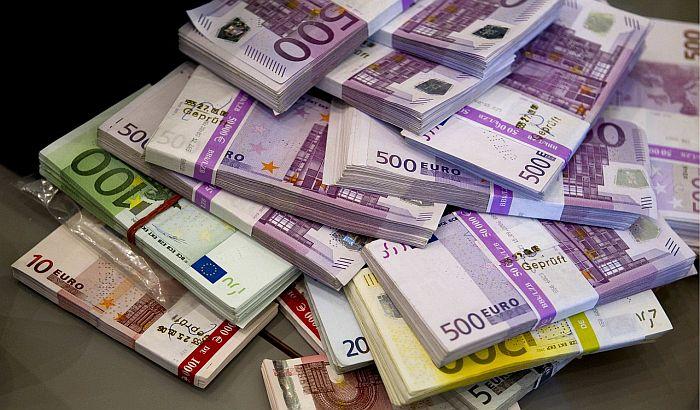 Sve veći broj milionera u bankama EU