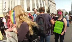 Incidenti na maršu za prava transrodnih osoba u Kijevu