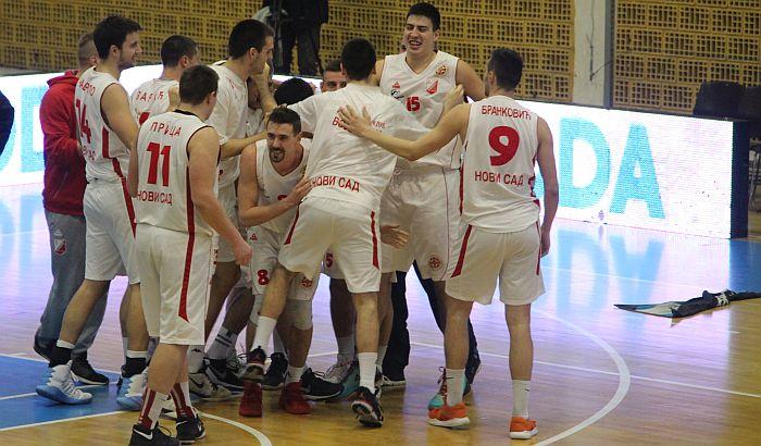 Poraz košarkaša Vojvodine na gostovanju Tamišu