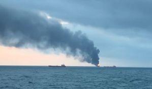 VIDEO: Požar na dva broda u Kerčkom moreuzu,  najmanje 14 ljudi stradalo