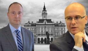 Vučević: Sebe vidim kao prvog kandidata za gradonačelnika, Đurić se smeška