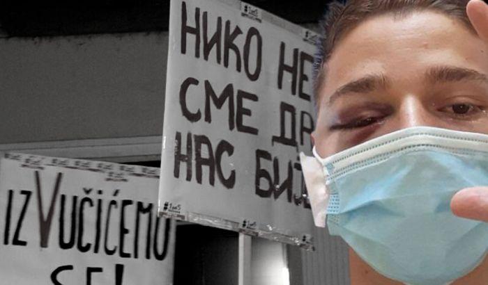 Protest zbog napada na novosadskog aktivistu večeras ispred zgrade suda kod Spensa
