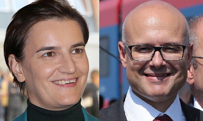 Novosti: Brnabić ima najveće šanse da bude premijerka, u užem krugu i Vučević