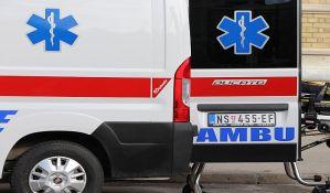 Ženu oborio automobil dok je prelazila ulicu u Temerinskoj, zadobila potres mozga