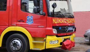 Zapalio se autobus kod Futoške pijace