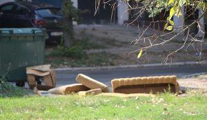 Divlje deponije se iznova stvaraju u pojedinim ulicama u Novom Sadu