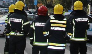 Požar u pogonu Gradske čistoće u Beogradu, izgorelo pet kamiona
