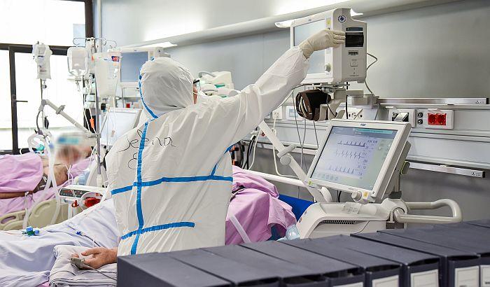 Na lečenju u KCV-u 159 pacijenata, devet na respiratoru