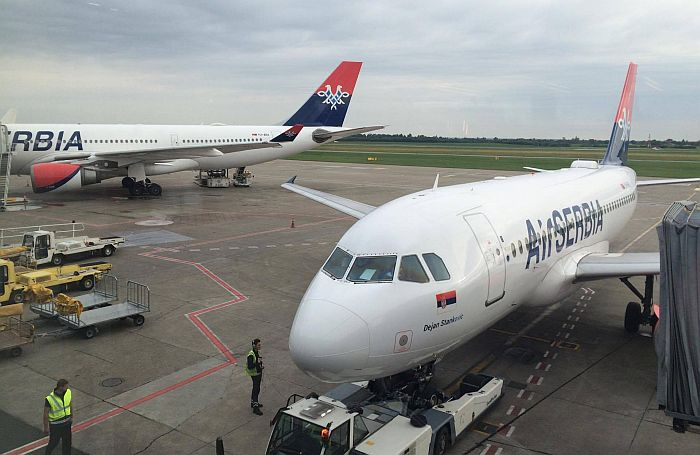 Er Srbija otkazala letove iz Niša za Italju, letovi iz Beograda redukovani