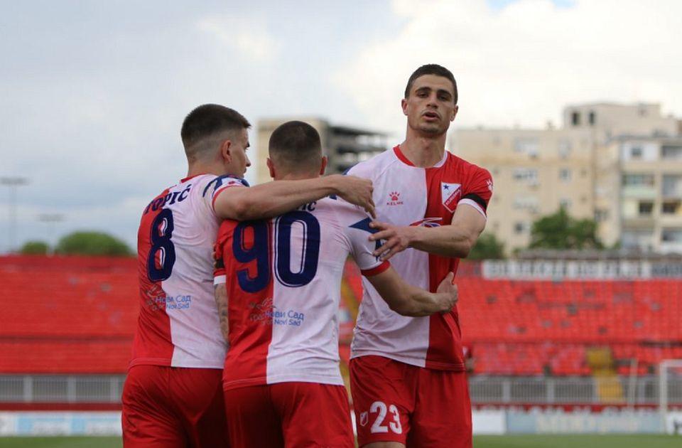 Remi Voše i Spartaka, Novosađani propustili šansu da obore rekord