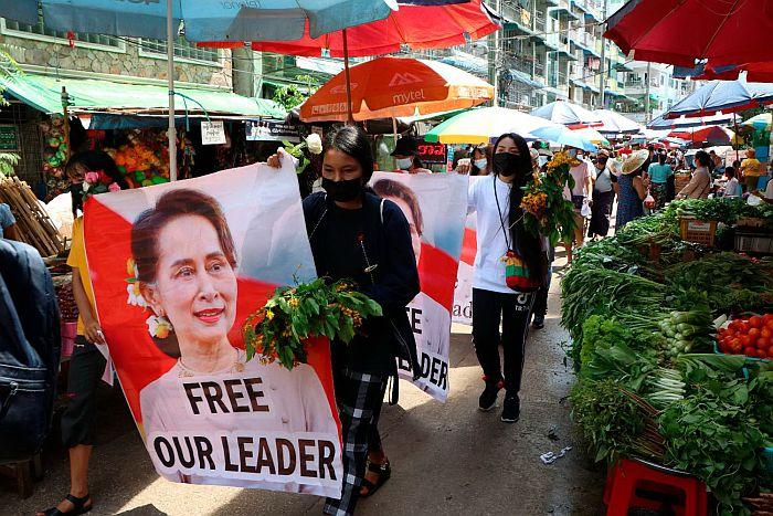 SAD uvode sankcije protiv državne firme Mjanmara