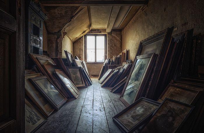 Slike ukradene pre 25 godina pronađene na tavanu kuće