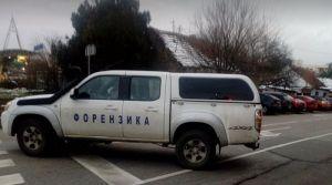 FOTO: Policija blokirala deo ulice Ilije Birčanina