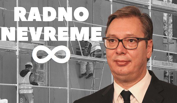 Neradna nedelja za Vučića cilj neradnika, za radnike civilizacijsko pravo