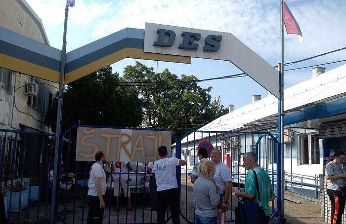 Deo radnika DES-a počeo štrajk, direktor obećao ostavku ako se problemi ne reše