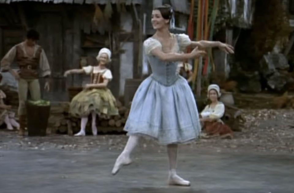 Preminula legendarna balerina Karla Frači
