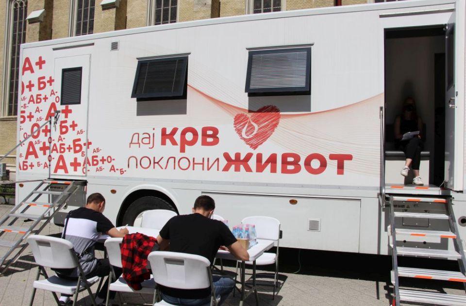 Poziv davaocima krvi: Transfuziomobil večeras u centru Novog Sada