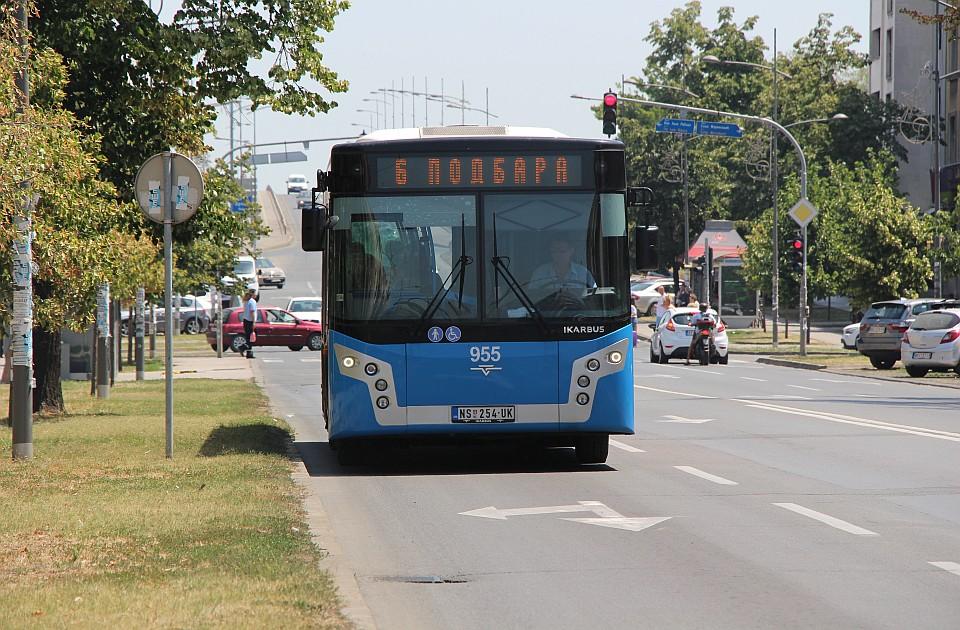 Autobusi na liniji 6 menjaju trasu do početka avgusta