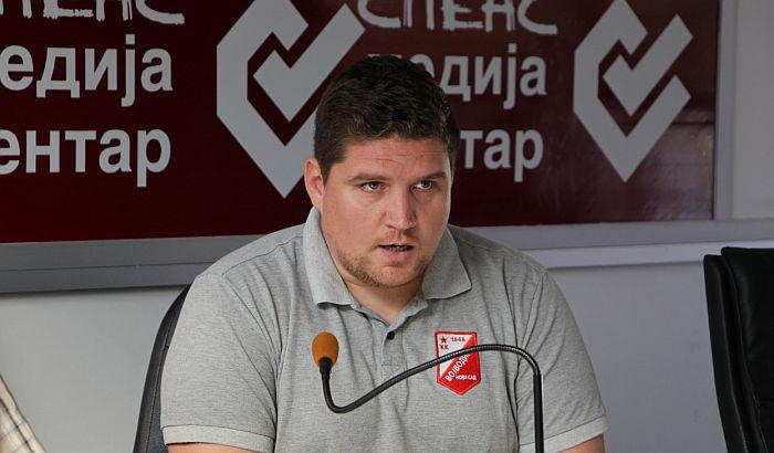 Filip Socek više nije trener KK Vojvodina: Nadam se da ću se vratiti jednog dana