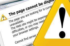 Pali veb sajtovi svetskih kompanija i finansijskih institucija