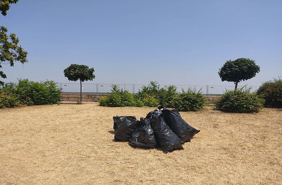 Čistoća tokom Exita sakupila 33 tone smeća
