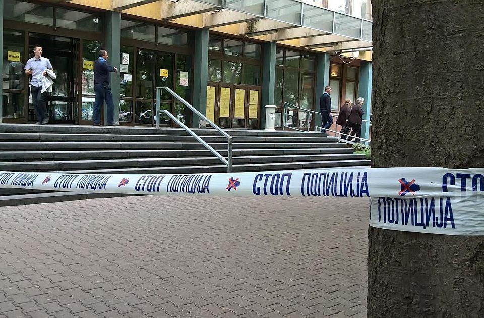 Četvrta lažna dojava o bombi u novosadskom sudu za manje od dve sedmice