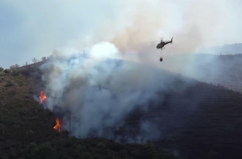 VIDEO: Neugašena cigareta izazvala veliki šumski požar u Kataloniji