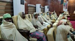 VIDEO: Oslobođene otete nigerijske devojčice