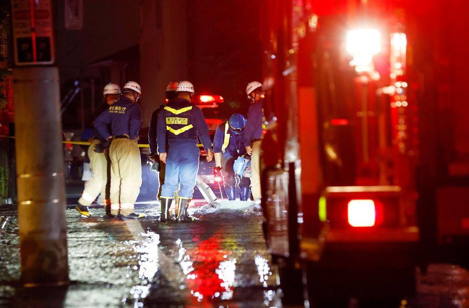 U zemljotresu u Tokiju više od 50 povređenih