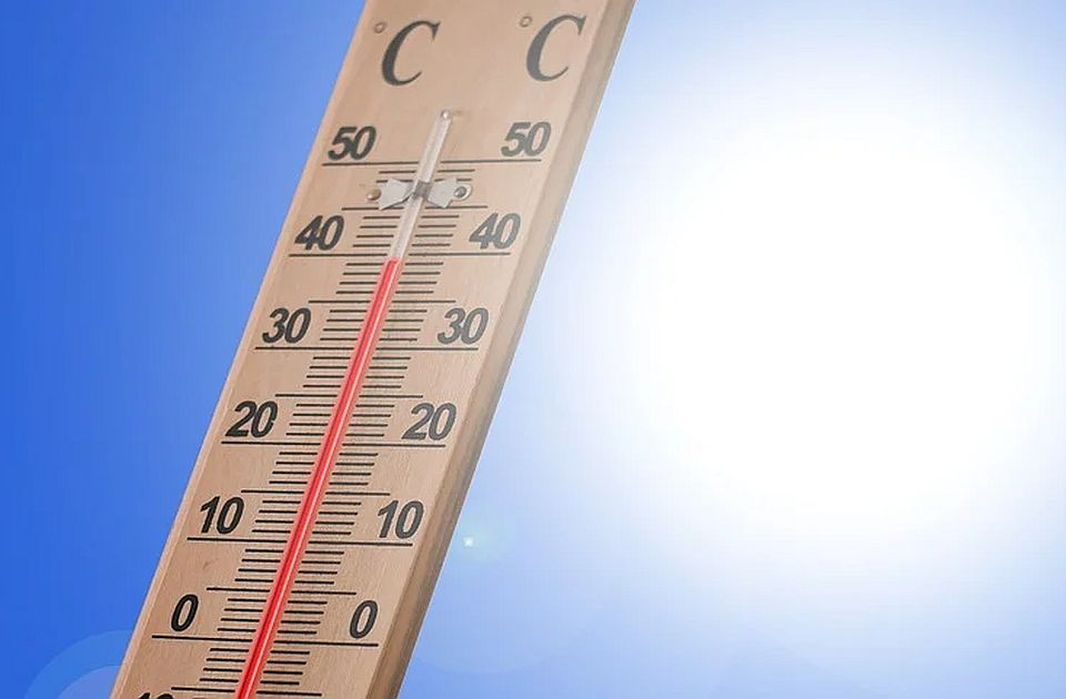 Vreo dan: Temperatura u Srbiji uglavnom 38 i 37 stepeni