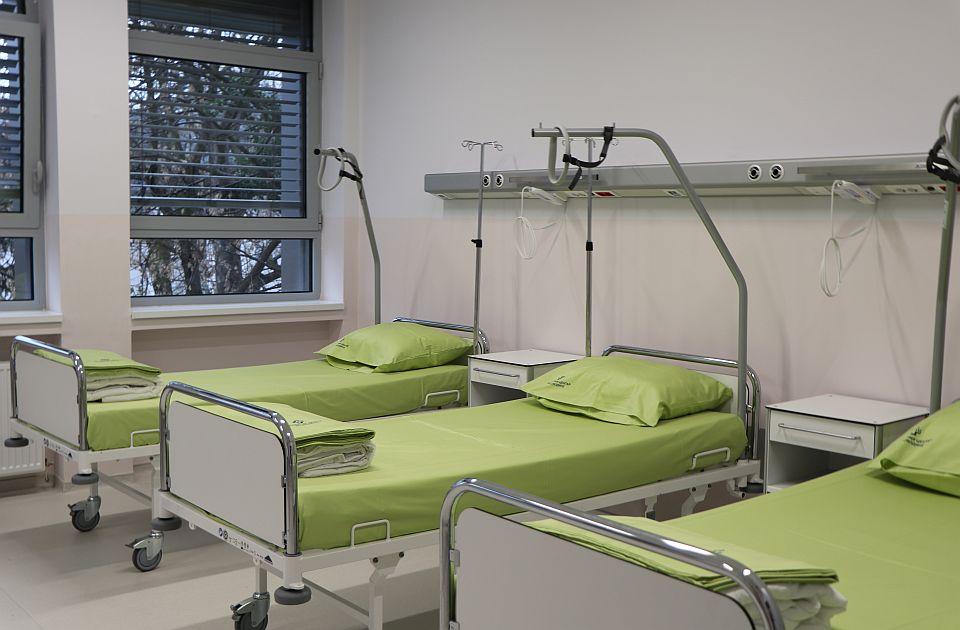 Nastavljen pad broja kovid pacijenata u Novom Sadu