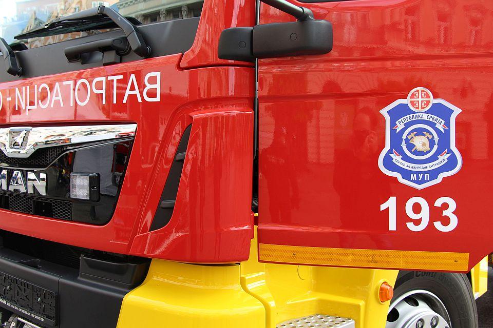 Požar u stanu u centru Beograda, jedna osoba povređena