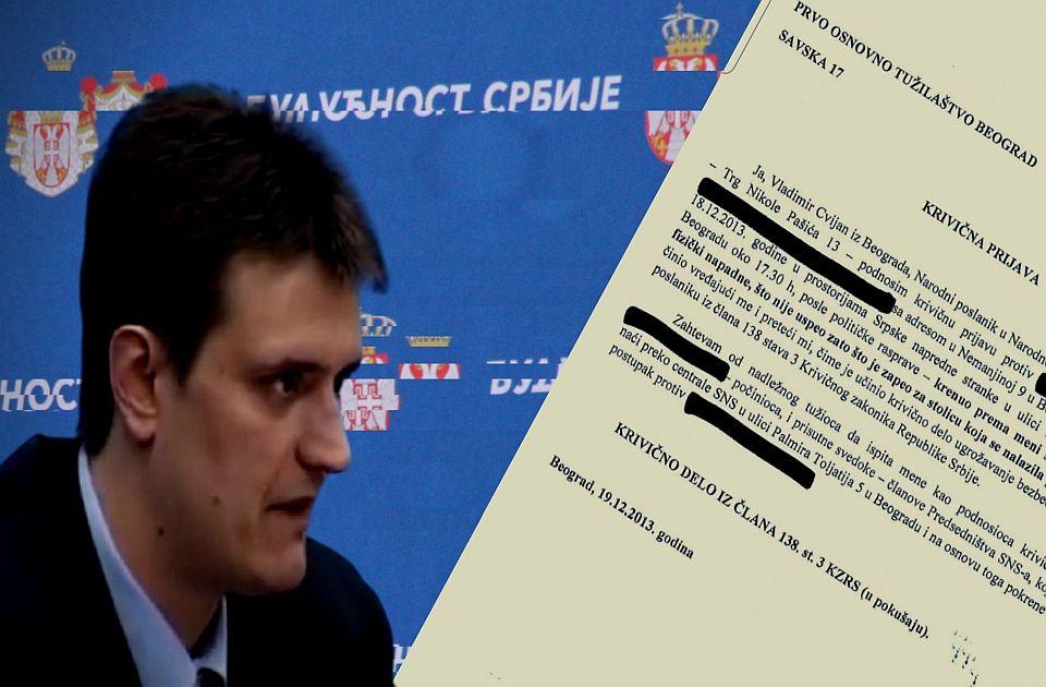 Cvijan i krivična prijava protiv Vučića: Zapinjanje za stolicu, tvit i medijski napisi