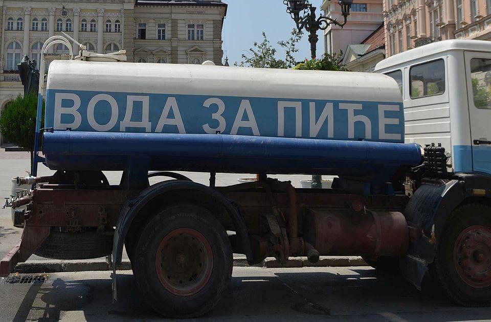 Begeč tri dana bez vode zbog radova, cisterne će biti na tri lokacije