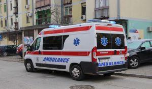 Automobil se zabio u banderu u Futoškoj ulici