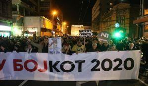 Završen protest u Beogradu: Uzbunjivači - simboli pravde i istrajnosti