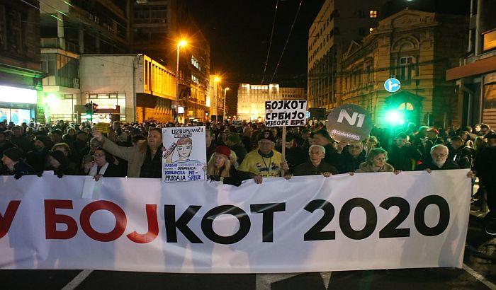Održan protest u Beogradu: Uzbunjivači - simboli pravde i istrajnosti