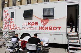Prikupljanje krvi danas ispred Promenade