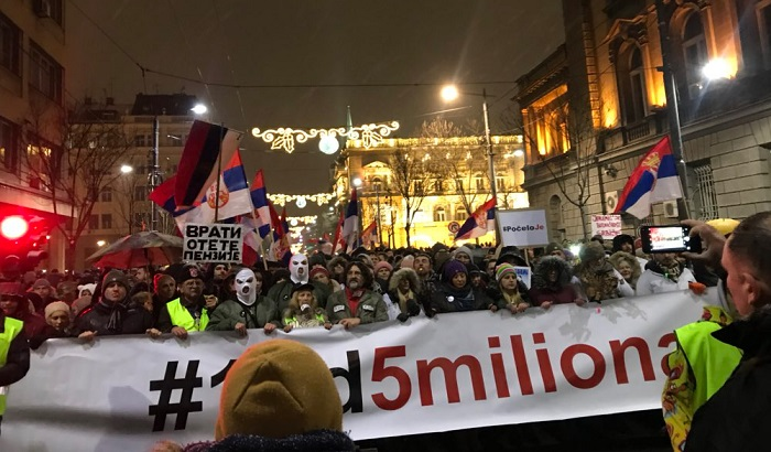 VIDEO, FOTO: Na hiljade građana ponovo na ulicama Beograda, protesti i u drugim gradovima