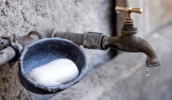 Deo Novog Sada i Veternika bez vode