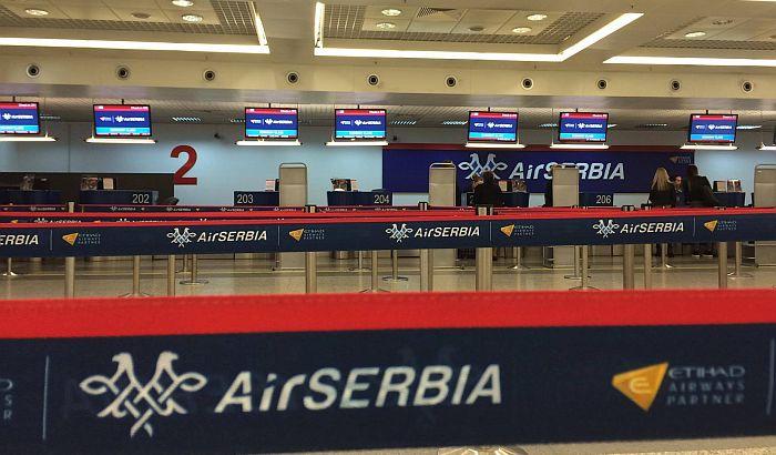 Tokom jutra problemi sa letovima Er Srbije