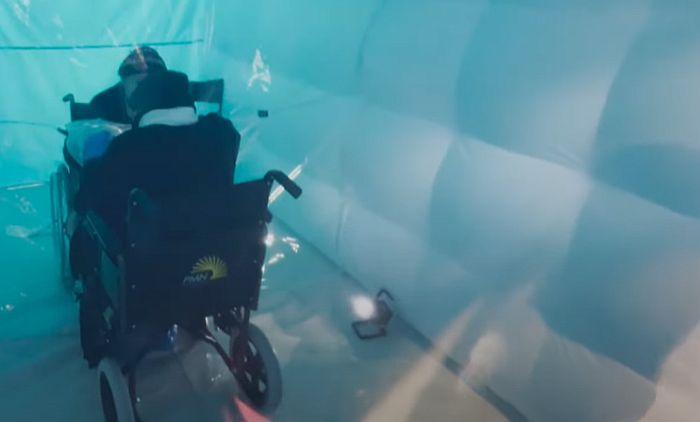 VIDEO: Napravili sobu za grljenje ljudi zaraženih koronom