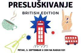 Britansko Presluškivanje večeras na Radiju 021