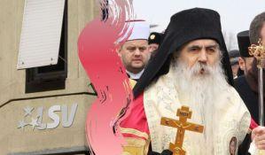 Ligaši bojkotovali sednicu Skupštine grada jer Irinej dobija Novembarsku povelju