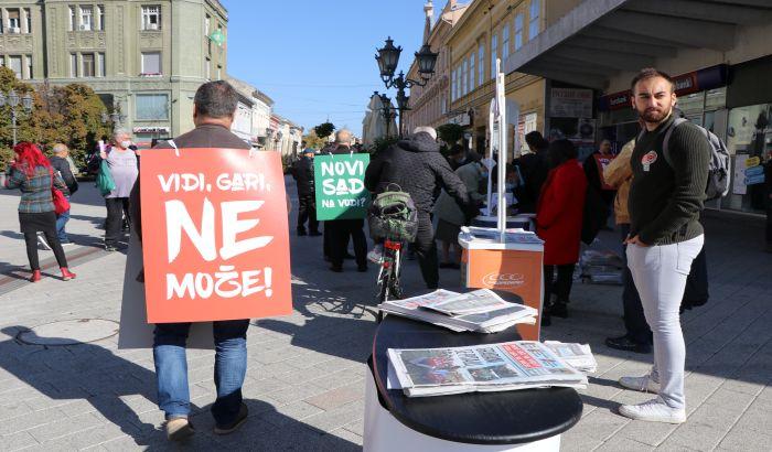 """FOTO, VIDEO: Galens i """"Novi Sad na vodi"""" ujedinili novosadsku opoziciju i organizacije"""