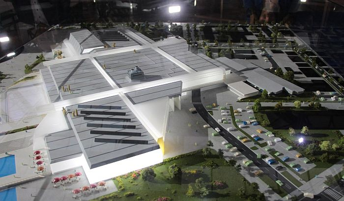 Nakon predstavljanja makete, FTN radi projekat o celokupnoj rekonstrukciji Spensa