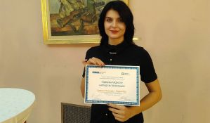 Novinarka Radija 021 Gorica Nikolin nagrađena godišnjom nagradom Poverenika za zaštitu ravnopravnosti