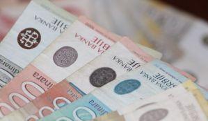 Evro u ponedeljak 118,21 dinar